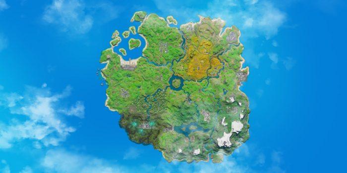 Nuevo mapa nuevos desafíos. Fuente: Epic Games