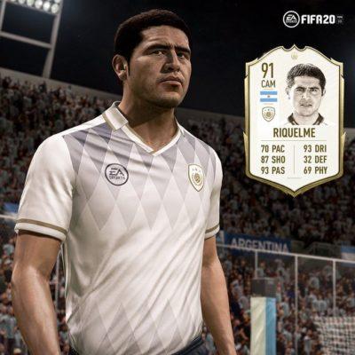 Fuente: Electronic Arts Media - Juan Roman Riquelme como Icono en FIFA20