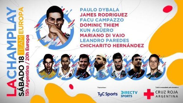 Champlay team Europa