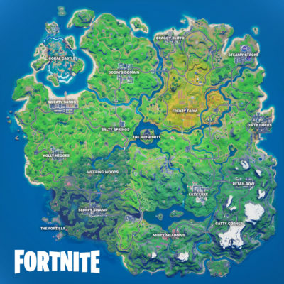 Mapa Fortnite Temporada 4 Capítulo 2