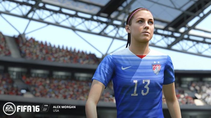 Alex Morgan FIFA