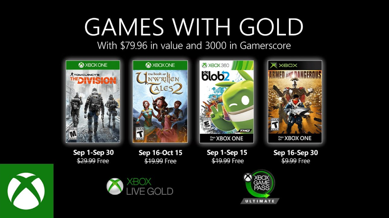 GAMES-WITH-GOLD SEPTIEMBRE