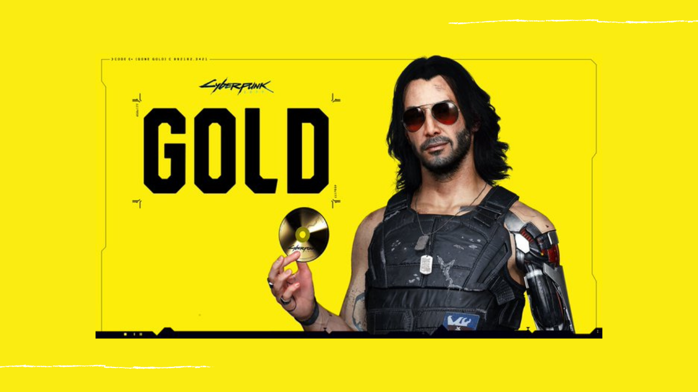 Cyberpunk Gold
