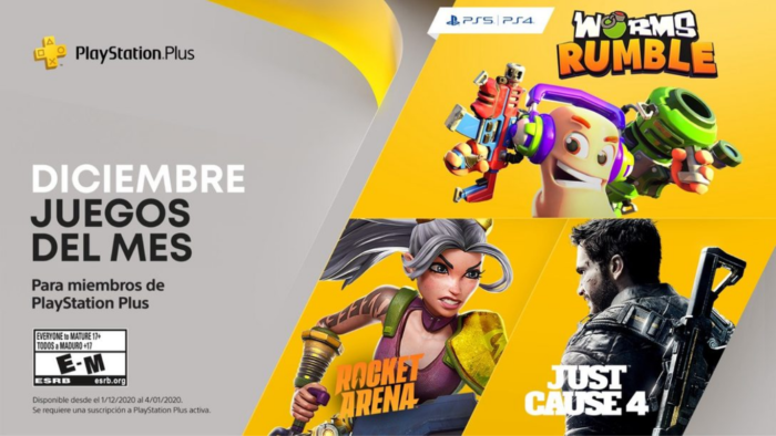 PlayStation Plus Diciembre 2020