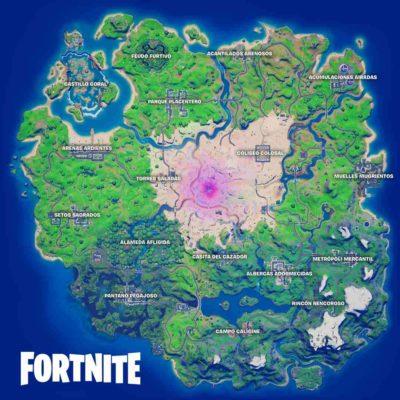 Mapa Fortnite Temporada 5