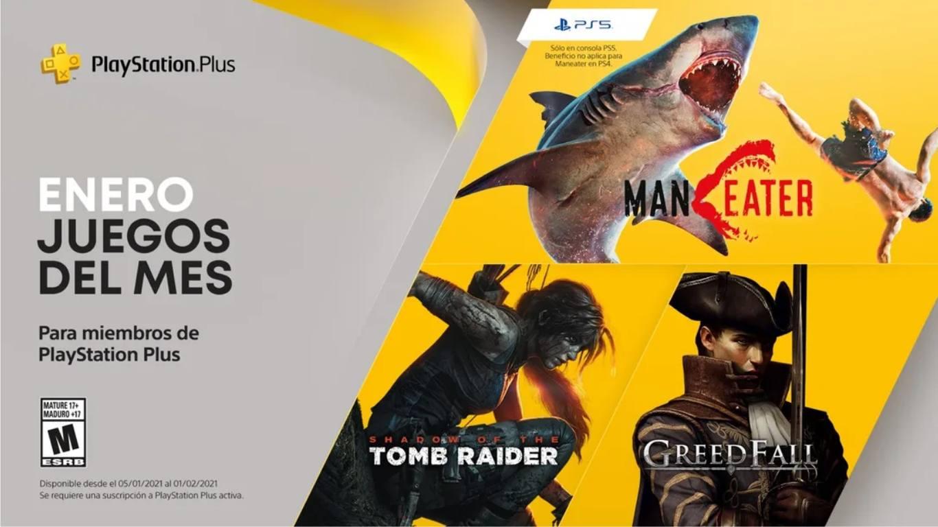 Playstation Plus enero 2021