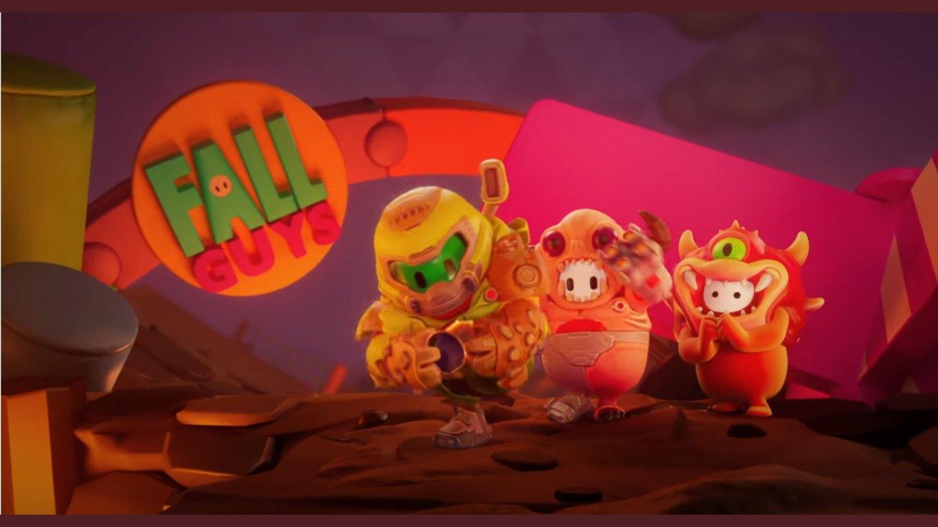 Fall Guys Y Doom Eternal