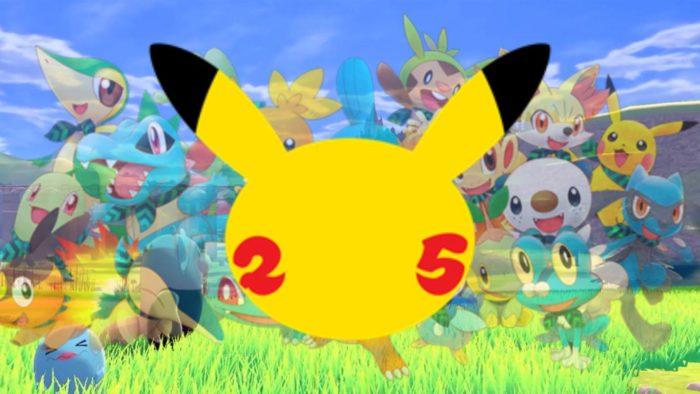 Pokemon 25 años