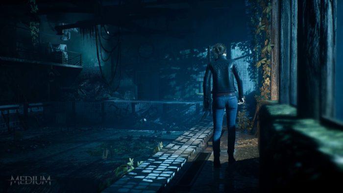 The Medium escena del juego
