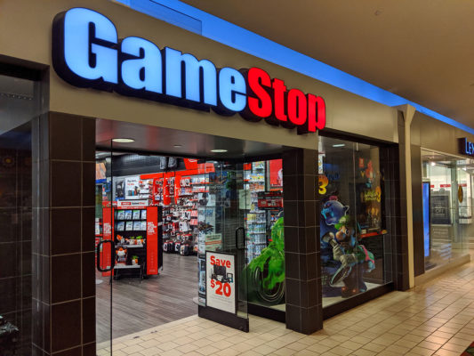 Una tienda de GameStop