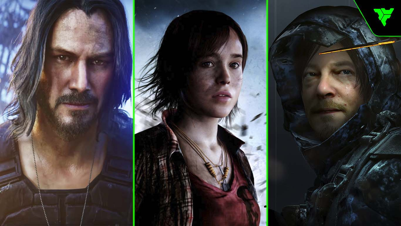 actores famosos videojuegos