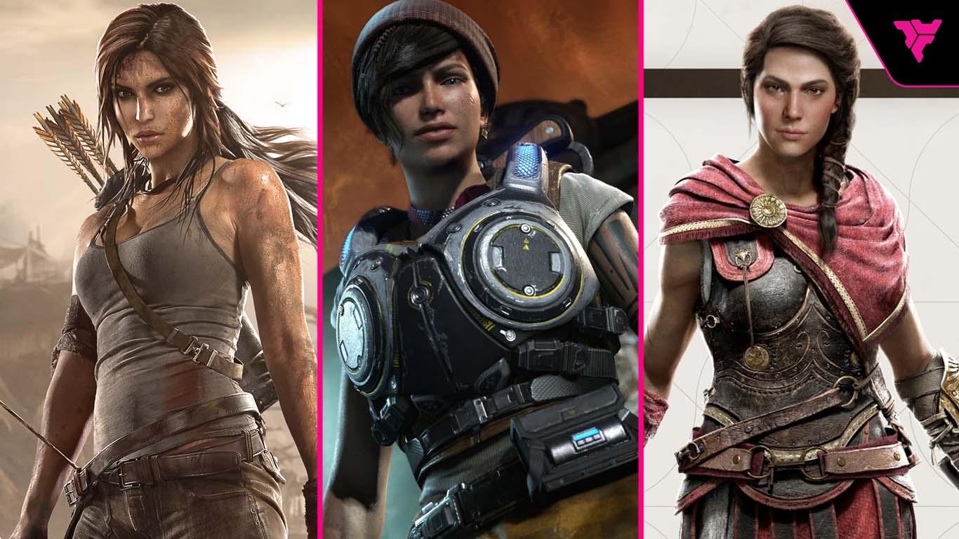 personajes femeninos videojuegos