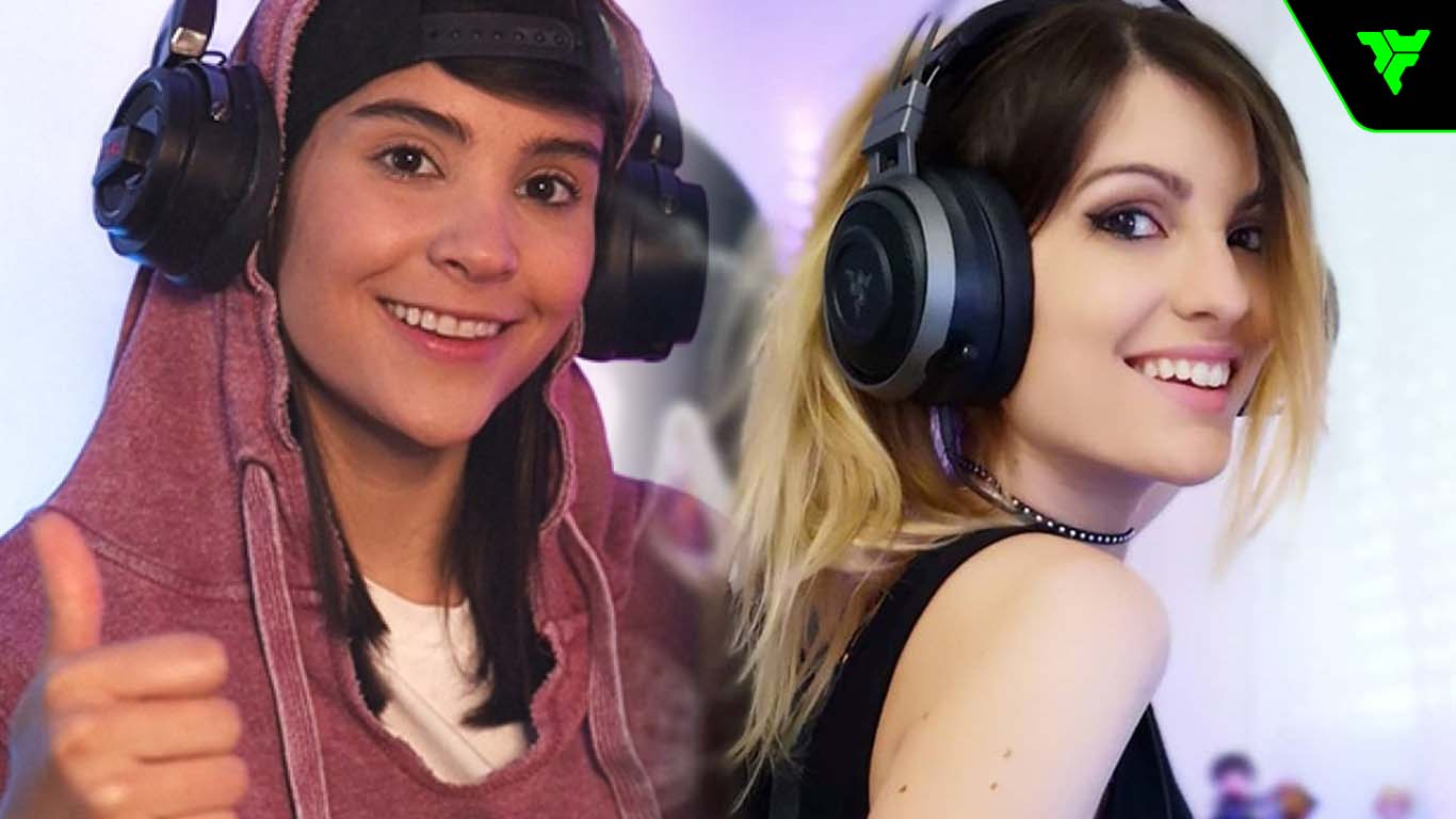 streamers mujeres