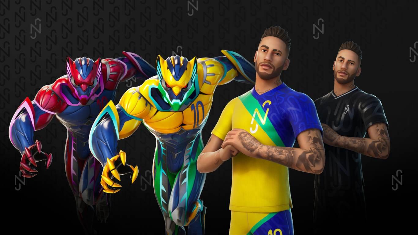 Neymar Fortnite Volk