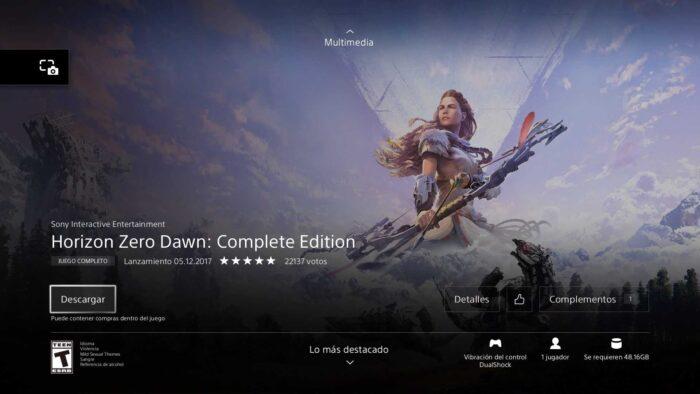 horizon zero dawn descargar gratis volk games
