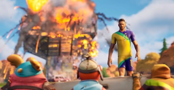 neymar-fortnite volk games