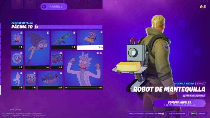 robot mantequilla fortnite volk games