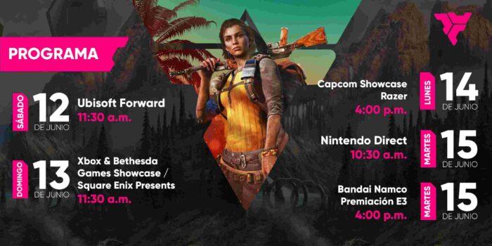 E3 2021 programación de streamings volk games