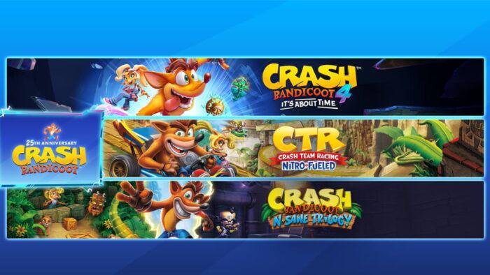 Crash Bandicoot 25 años volk