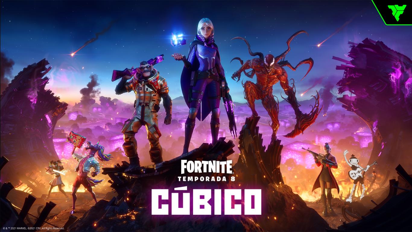 Fortnite-Temporada-8-Cubico