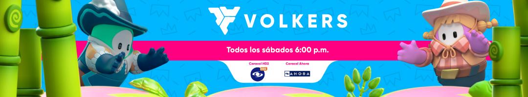 Volkers programa de videojuegos caracol tv